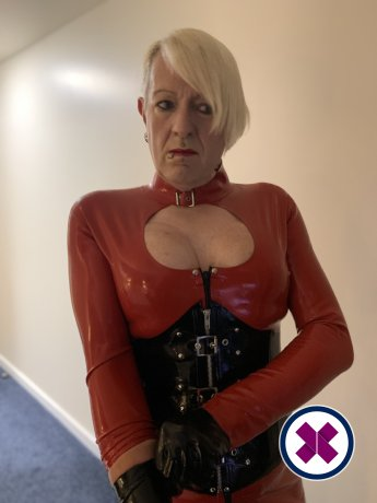 Latex Submissive TS is a sexy English Escort in Westminster